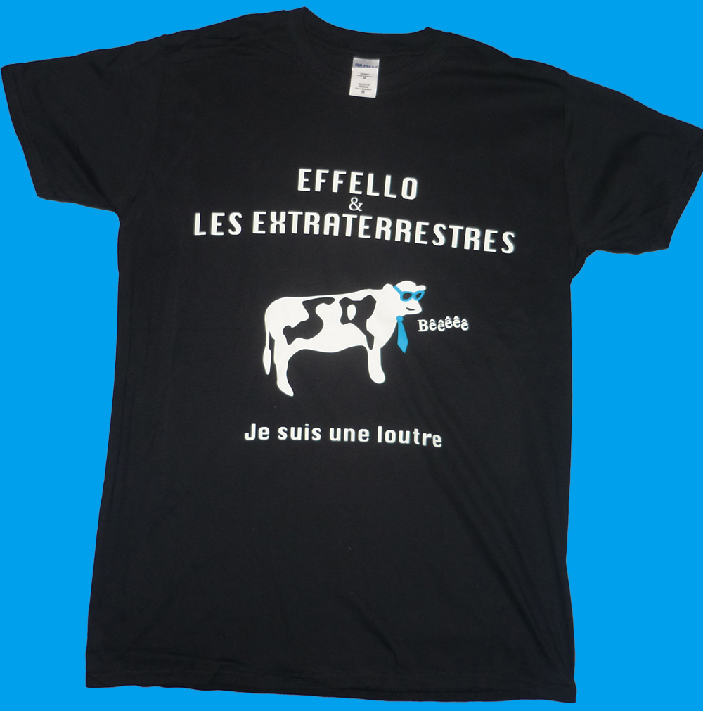 T-shirt Homme Loutre