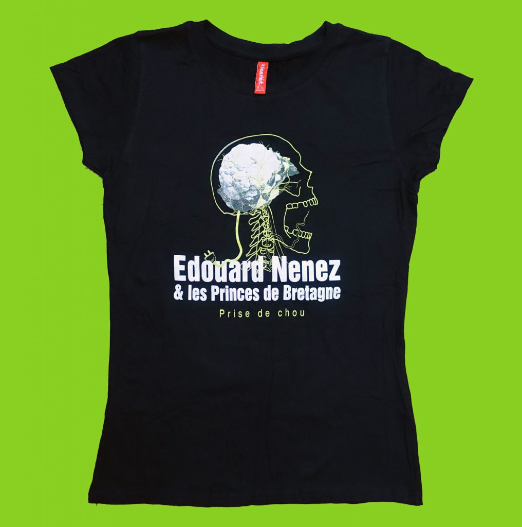 T-shirt Femme Prise de Chou