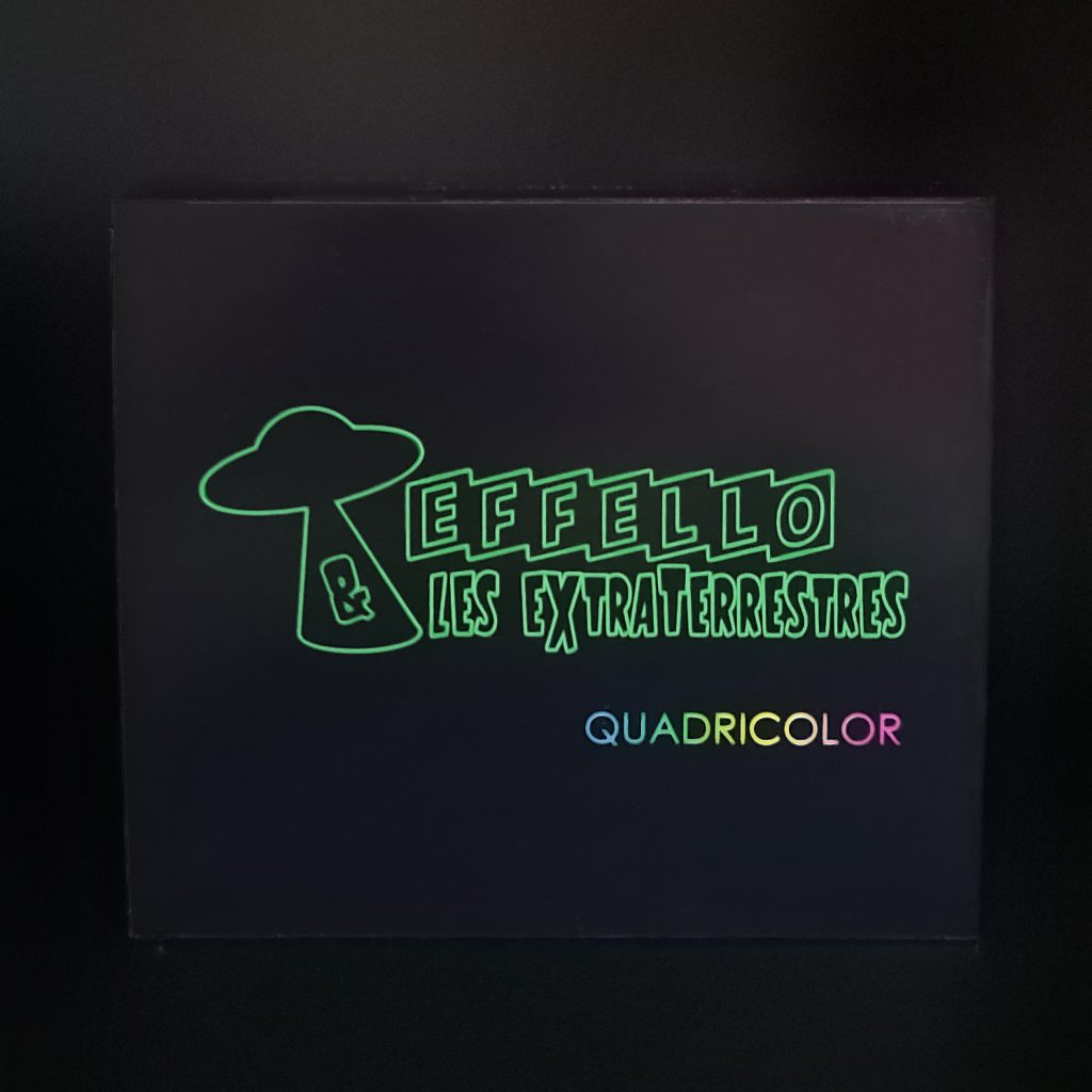Coffret 4 CD Quadricolor